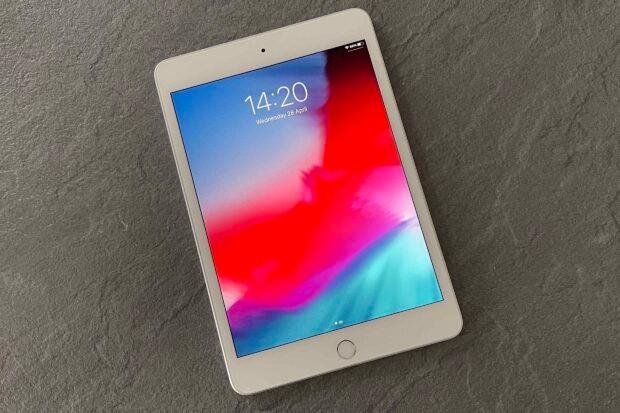 Apple iPad Mini lock screen