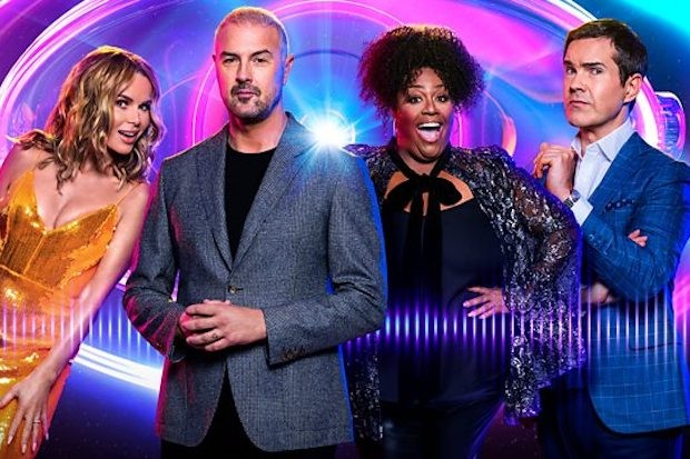 I Can See Your Voice's Paddy McGuinness and judging panel