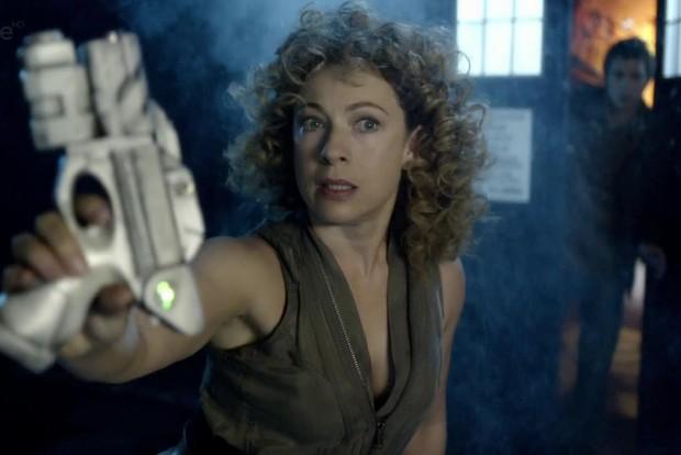 River Song (Alex Kingston) in Doctor Who