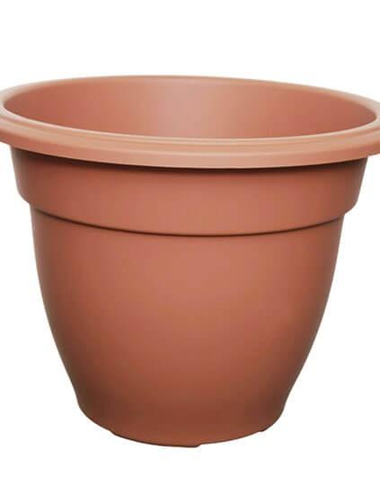 Whitefurze Round Bell Terracotta Planter 20cm