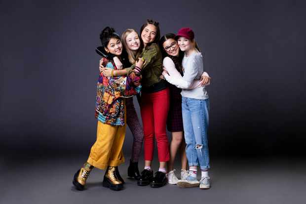 Cast of The Baby-Sitters Club