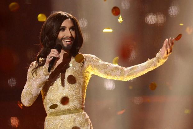Conchita Wurst, winnaar van de Eurovisieprijs 2014