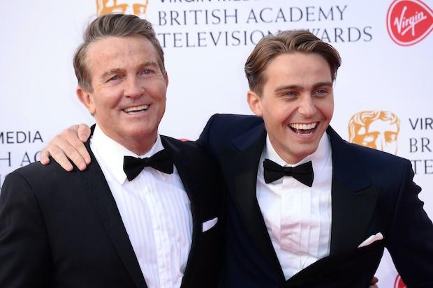 Bradley Walsh and Barney Walsh