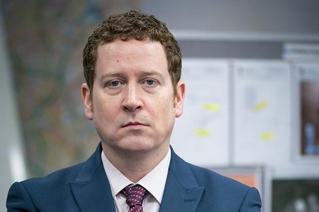 Nigel Boyle plays Ian Buckells in Line of Duty