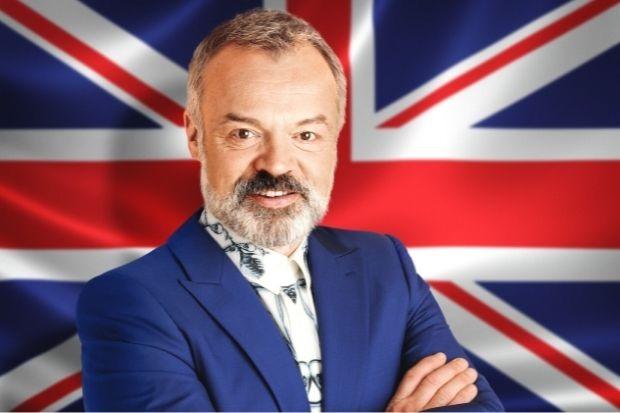 Eurovision host Graham Norton