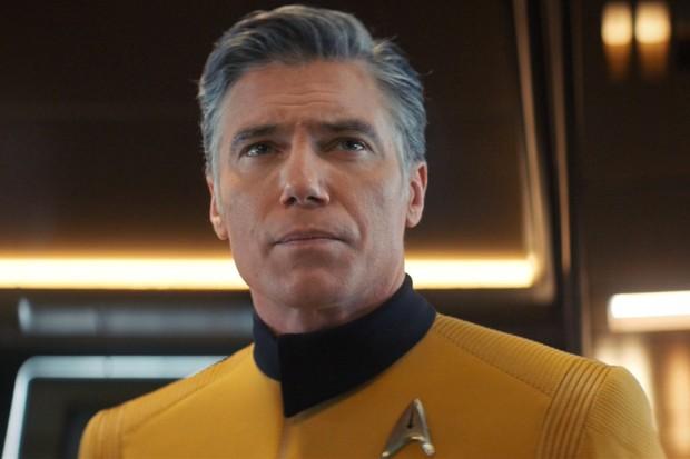 Anson Mount as Pike in Star Trek