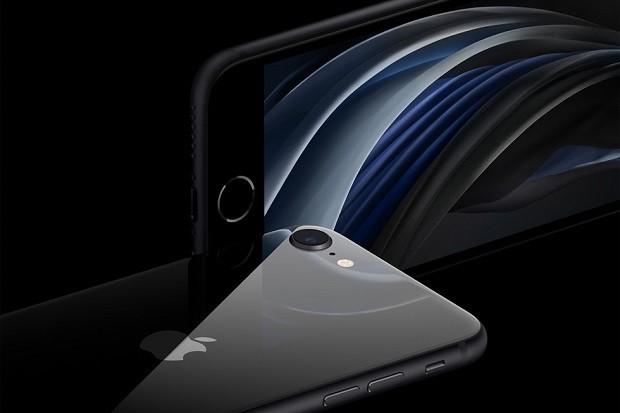 Apple iPhone SE has an aluminium and glass design