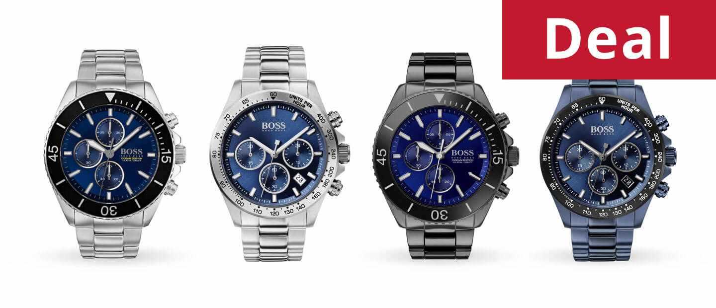 Hugo Boss Ocean Edition and Sports watches