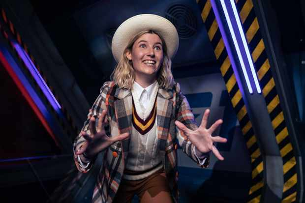 Molly Walker as a Time Lord Guide in Doctor Who: Time Fracture (BBC)