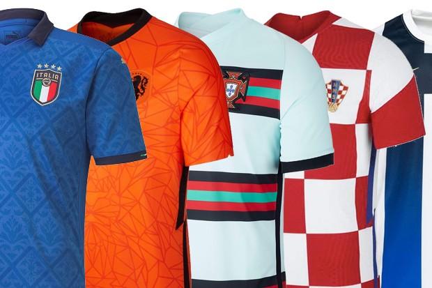Euro 2020 kits