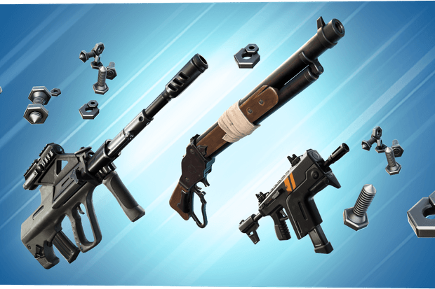 Tactical Smg Fortnite Unvaulted All Fortnite New Weapons Season 7 Unvaulted Vaulted Weapons And Items Radio Times