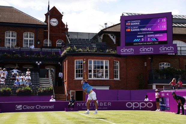 Queen's tennis 2021 schedule – Order of Play Friday 18th June