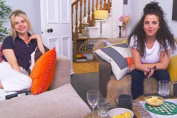 Saoirse-Monica & Jamie-Lee - Celebrity Gogglebox - APPROVED copy