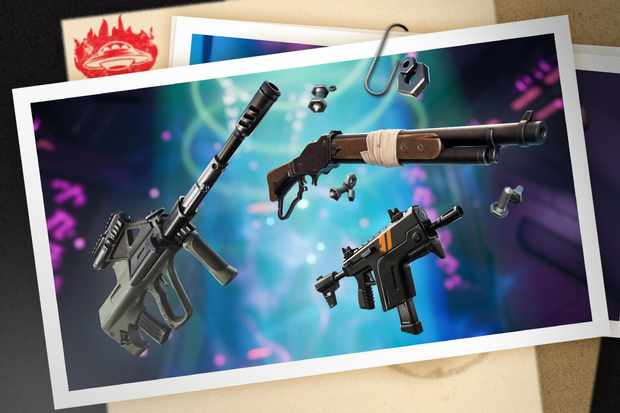 Vaulted Weapons In Fortnite Season 6 All Fortnite New Weapons Season 7 Unvaulted Vaulted Weapons And Items Radio Times