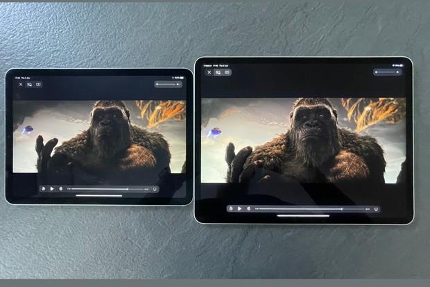 iPad Air vs iPad Pro screens compared