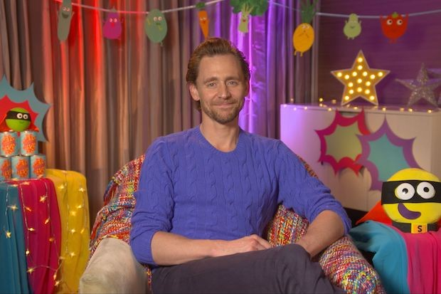 Tom Hiddleston CBeebies