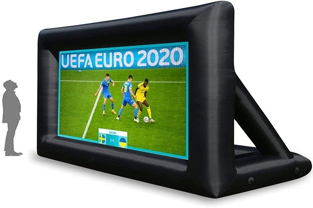 Inflatable projector screen (20 ft)