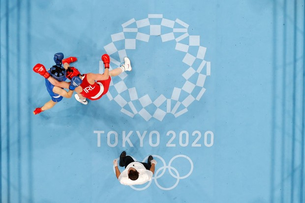 Olympic boxing rounds