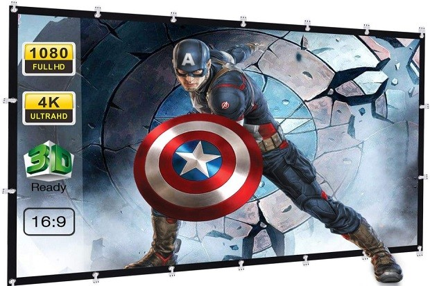 Powerextra 120 Inch Projector Screen