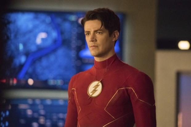 Grant Gustin plays Barry Allen aka The Flash