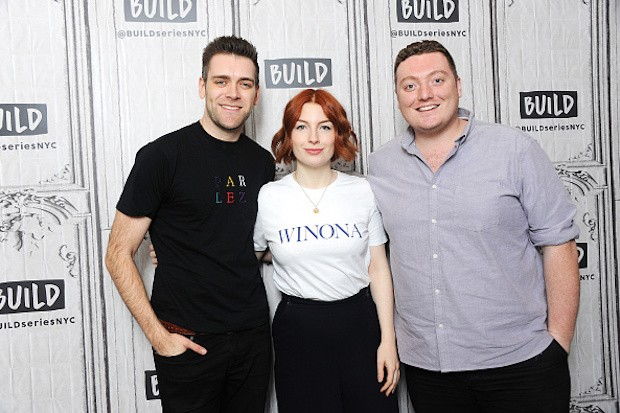 James Cooper, Alice Levine and Jamie Morton