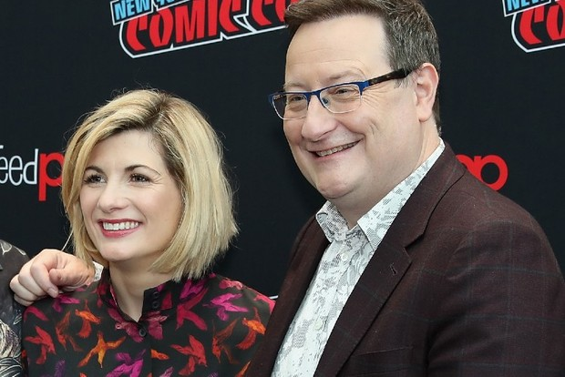 Jodie Whittaker and Chris Chibnall