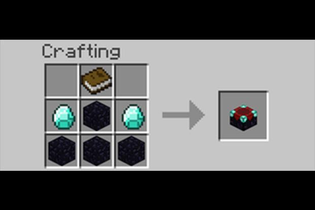 minecraft grid enchantment table