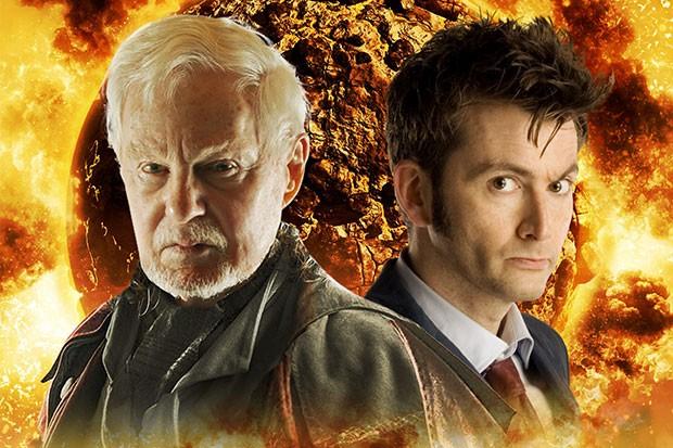 Doctor Who stars Derek Jacobi and David Tennant