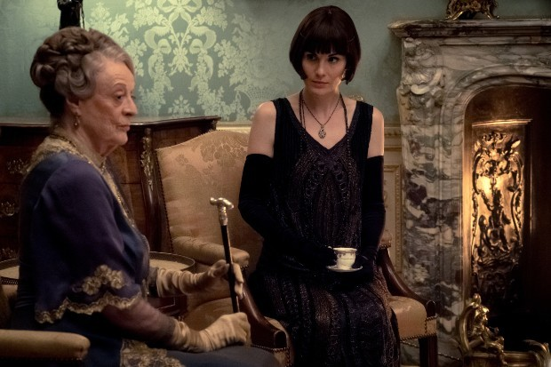 Maggie Smith and Michelle Dockery in Downton Abbey