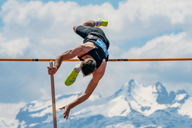 Which sports are in the Olympic decathlon?