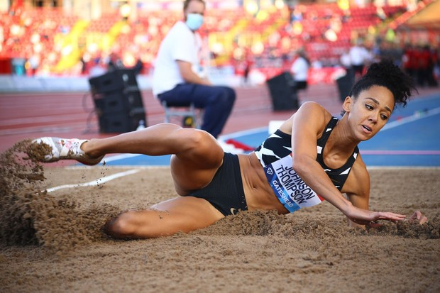 Which sports are in the Olympic heptathlon?