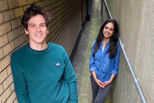 Jacob Dudman and Bhavnisha Parmar (1)