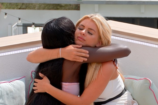 Kaz and Liberty in Love Island series 7