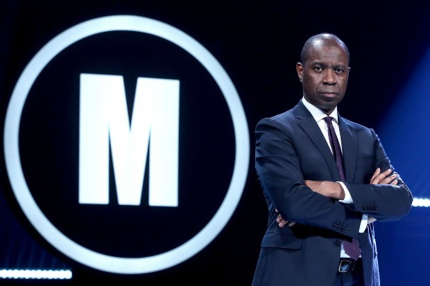 Clive Myrie presents Mastermind on BBC Two