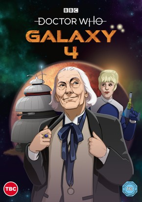 Doctor Who: Galaxy 4 animation starring William Hartnell
