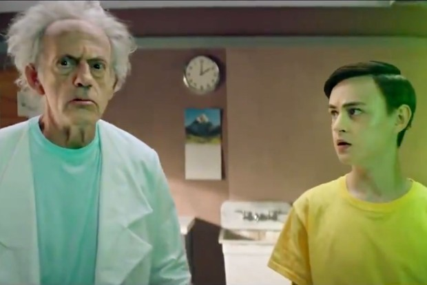 Live action Rick and Morty