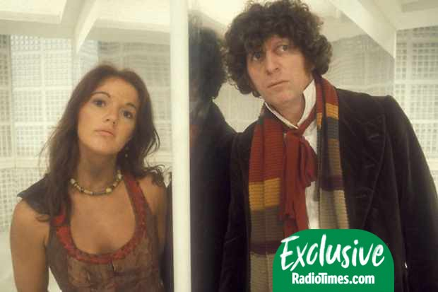 Leela (Louise Jameson) and the Fourth Doctor (Tom Baker) in Doctor Who