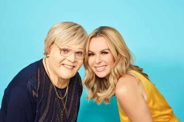 Amanda Holden and Gran.