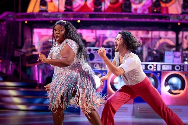 Strictly Come Dancing contestant Judi Love