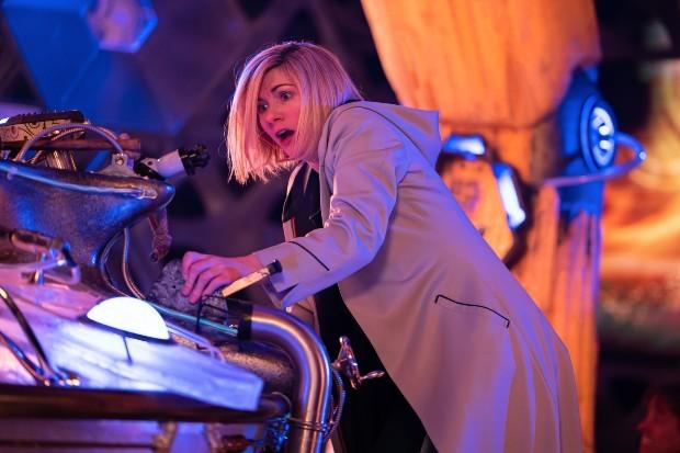 Jodie Whittaker in Doctor Who: Flux