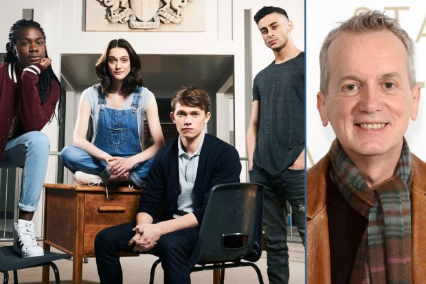 BBC's Class cast and Frank Skinner