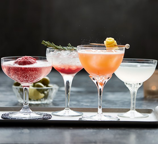 Prosecco cocktail selection