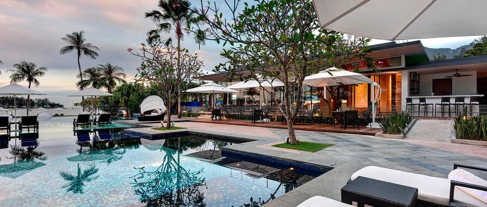 Pool in hotel