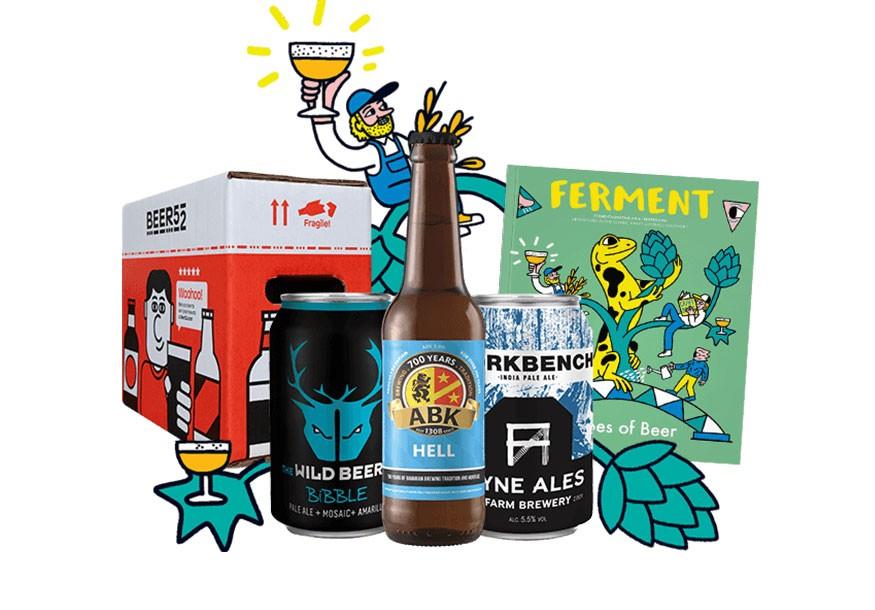 Box of Beer 52 beer