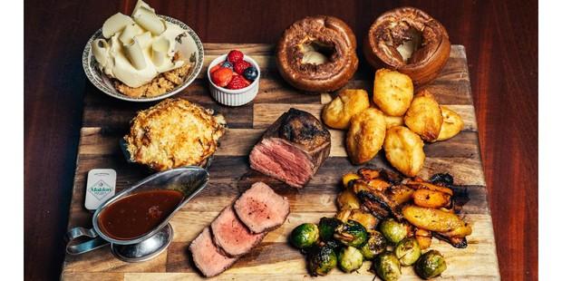Blacklock Sunday roast for two