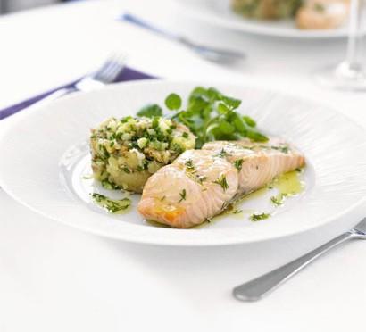Confit of salmon recipe