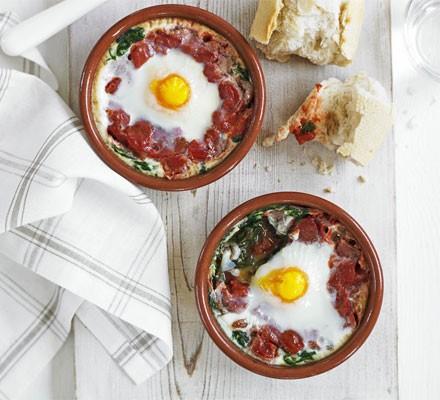 Low-salt breakfast