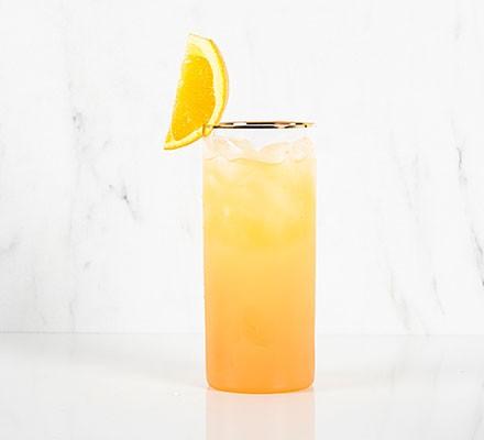 Screwdriver served in a tumbler glass