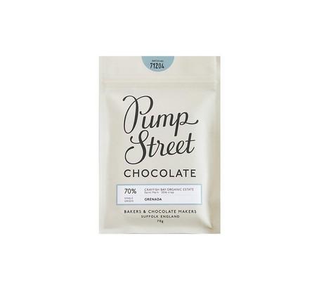 Pump Street Chocolate, Grenada 70% dark chocolate, best chocolate gifts