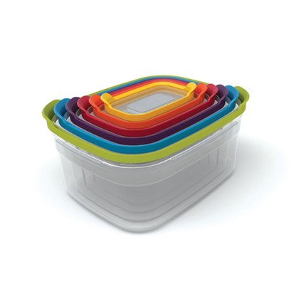 Joseph Joseph stacking containers. best tupperware
